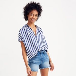 Madewel | 'Central' Shirt in Shea Stripe